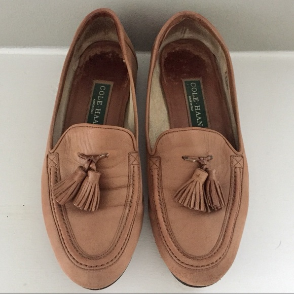 e5069760d36 Cole Haan Shoes - COLE•HAAN vintage tassel loafers